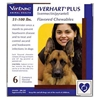 Iverhart Plus for Dogs 51-100 lbs, Brown, 6 Pack