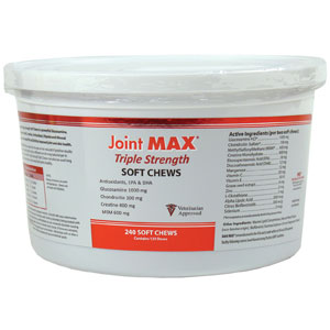 Joint MAX Triple Strength, 240 Soft Chews