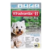 K9 Advantix II for Dogs 11-20 lbs, 6 Pack (Teal)