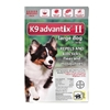K9 Advantix II for Dogs 21-55 lbs, 6 Pack (Red)