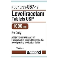 Levetiracetam 1000 mg, 1 Tablet