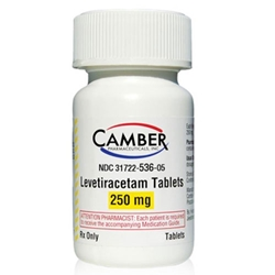 Levetiracetam 250mg, 1 single Tablet