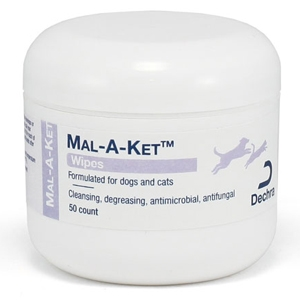 Mal-A-Ket Medicated Wipes, 50