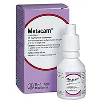 Metacam (meloxicam) Oral Suspension, 1.5 mg/mL, 10 mL