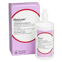 Metacam (meloxicam) Oral Suspension, 1.5 mg/mL, 180 mL