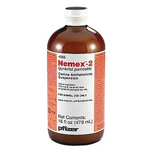 Nemex-2 Suspension (Pyrantel Pamoate), Pint