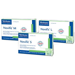 Novifit for Dogs, L, 400 mg, 30 Tablets