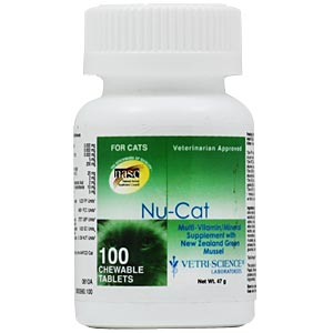 Nu-Cat Multi Vitamin Mineral Formula, 100 Tablets