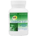 Omega 3,6,9 for Dogs and Cats, 30 Soft Gels