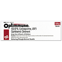 Optimmune (Cyclosporine) Ophthalmic Ointment, 3.5 gm
