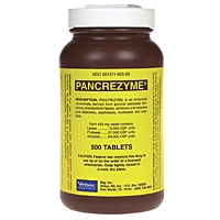 Pancrezyme 425 mg, 500 Tablets