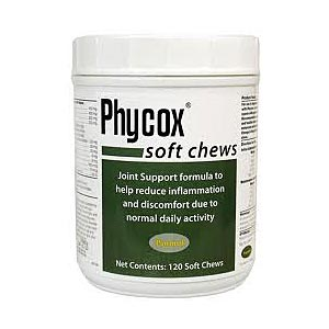 Phycox One Soft Chews for Dogs, 120 count