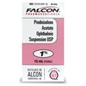 Prednisolone Acetate 1% Ophthalmic Suspension, 15 mL
