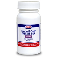 Prednisone 20 mg, 500 Tablets