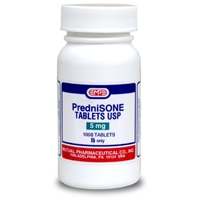 Prednisone 5 mg, 1000 Tablets