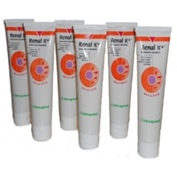 Renal K+ (Potassium Gluconate) Gel, 5 oz (6 Pack)