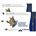 Revolution for Cats 5-15 lbs, Blue, 12 Pack