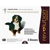 Revolution for Dogs 85-130 lbs, Plum, 3 Pack