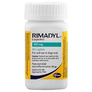 Rimadyl Carprofen 100 Mg 30 Caplets