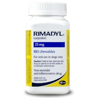 Rimadyl (Carprofen) 25mg, 180 Chewable Tablets