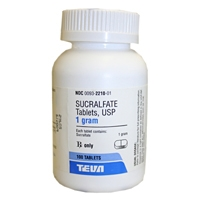 Sucralfate 1 gm, 100 Tablets