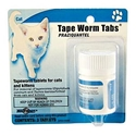 Tape Worm Tabs Feline (Praziquantel) 23 mg, 3 Tablets