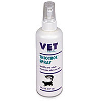 Thiotrol Spray for Skunk Odors, 8 oz