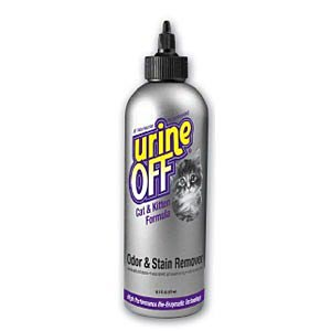 Urine-Off Odor and Stain Remover For Cats, 500 mL (16.9 oz)