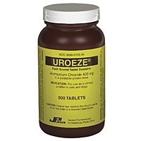 Uroeze 200 mg, 500 Tablets