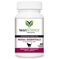 Vetri-Science Renal Essentials For Cats, 60 Tablets renal essentials cats 60 tablets nutritional supplement kidney support petmeds essintials renel essentals essentils