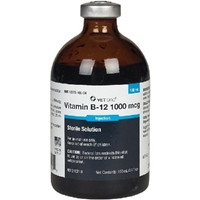 Vitamin B12 1000 mcg, 100 mL vitamin b12 1000 mcg 100ml helps maintain healthy nerve cells red blood needed help dna genetic material petmeds vitamen 1000mcg