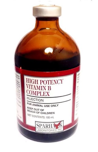 High Potency Vitamin B Complex Injection, 100 mL