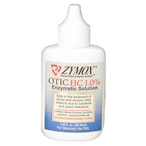 Zymox Otic With Hydrocortisone 1%, 4 oz