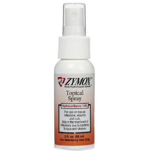 Zymox Topical Spray With Hydrocortisone 1 0 2 Oz