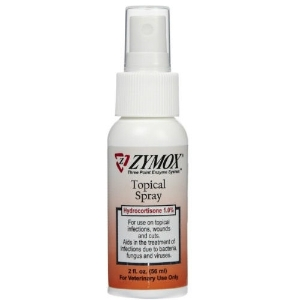 Zymox Topical Spray with Hydrocortisone 1.0% , 2 oz