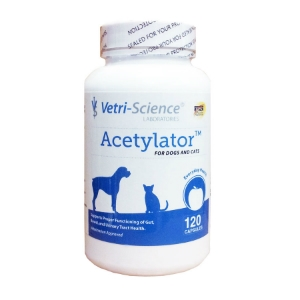 Acetylator for Dogs and Cats, 120 Capsules