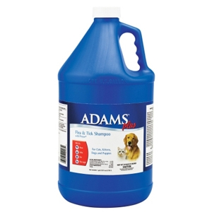 Adams Plus Flea & Tick Shampoo With Precor, 1 gal