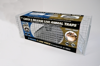 Advantek Catch & Release Live Animal Trap Value Pack