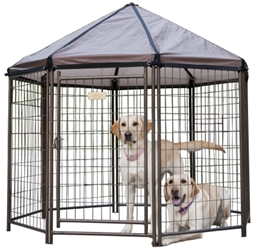 Advantek Pet Gazebo with Cover