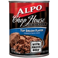 Alpo Chop House Top Sirloin, 13.2 oz - 24 Pack
