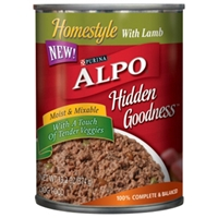 Alpo Homestyle Hidden Goodness with Lamb, 13 oz - 24 Pack