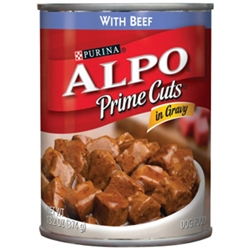 Alpo Prime Cuts with Beef in Gravy, 13.2 oz - 24 Pack