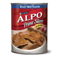 Alpo Prime Slices with Roast Beef in Gravy, 13.2 oz - 24 Pack