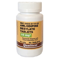 Amlodipine Besylate 10 mg, 90 Tablets | VetDepot.com