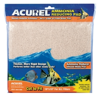 Ammonia Remover Infused Media Pad, 10 x 18 inches