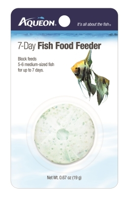 Aqueon 7-Day Fish Vacation Food Feeder