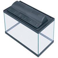 Aqueon Aquarium Combo with Hood Black Trim, 10 gal