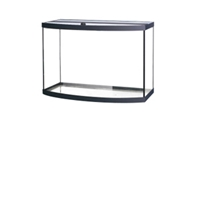 Aqueon Bowfront Aquarium Black Trim, 36 gal