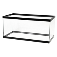 Aqueon Breeder Aquarium Black Trim, 40 gal