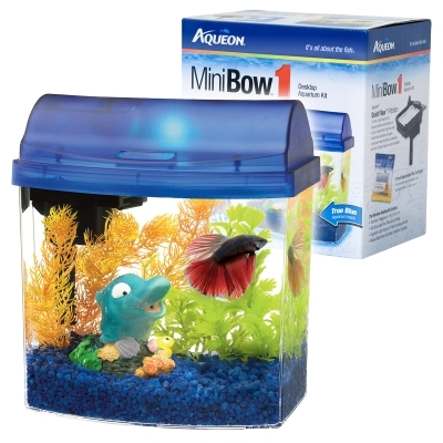 Aqueon Mini Bow 1 Blue